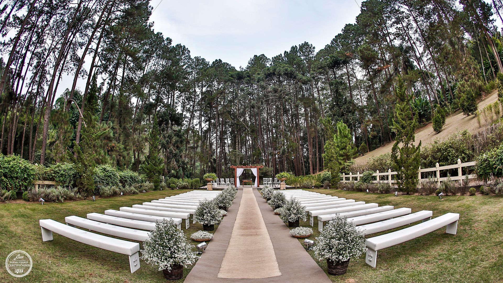 Casamento no Campo perto de SP