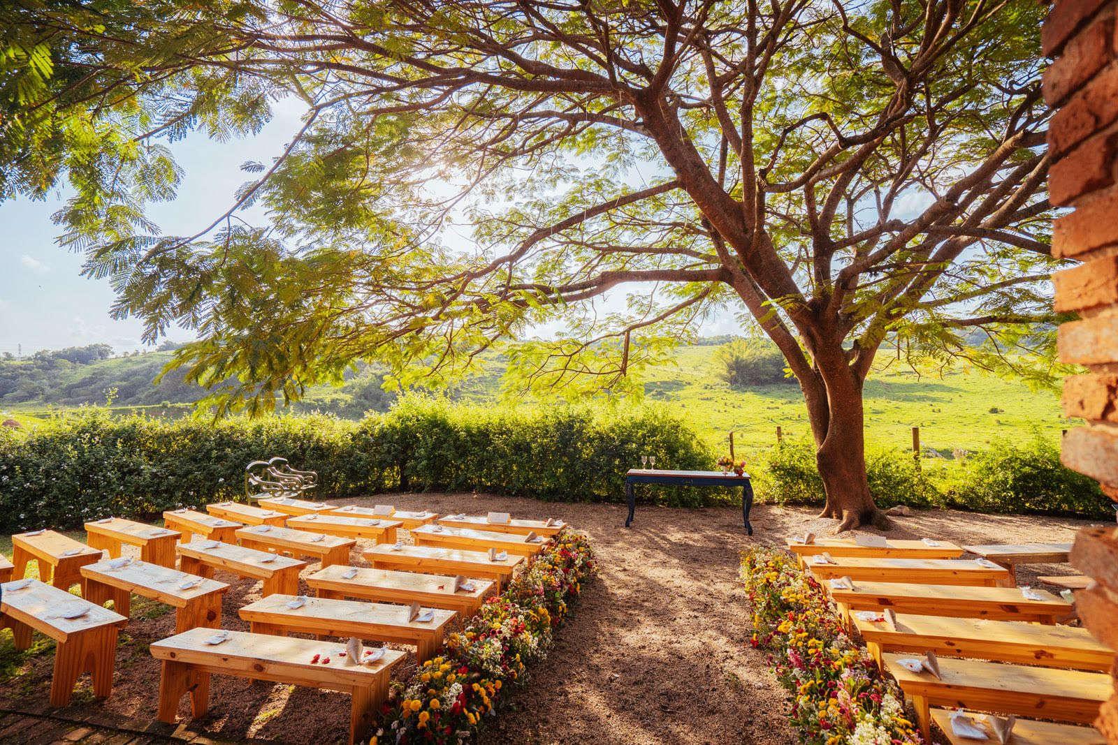 Fazenda histórica para casamento em Itu