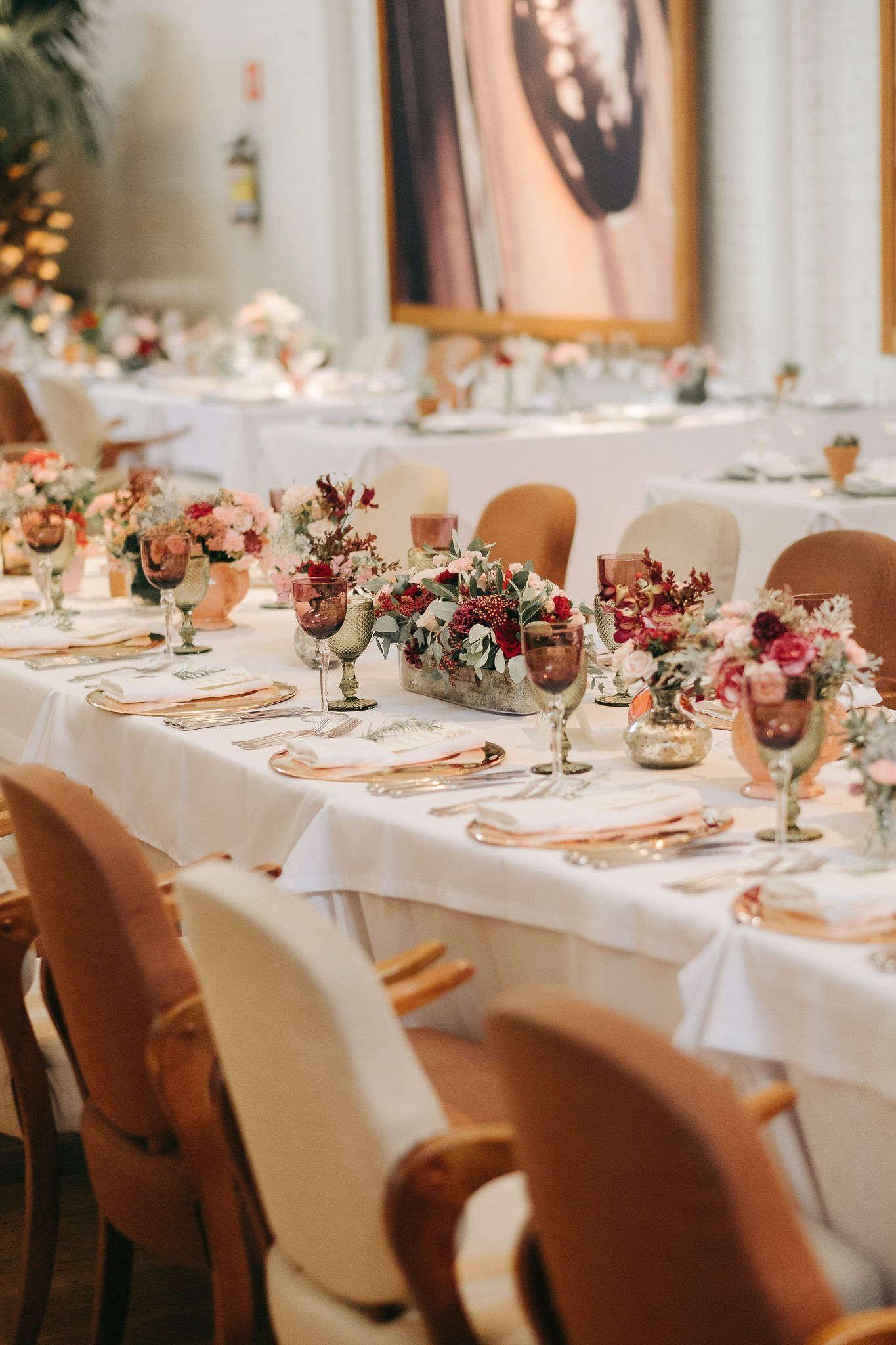 decoração de casamento em um restaurante