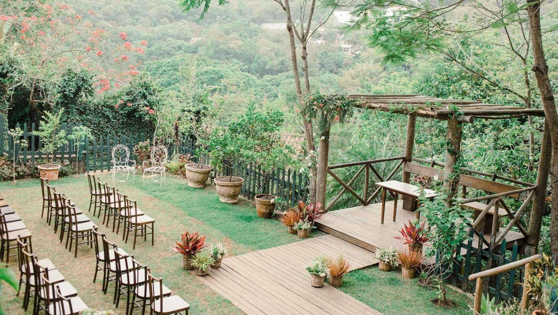 Casa na Serra da Cantareira para mini wedding